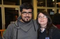 Guillermo Ogaz y Magdalena Valenzuela.