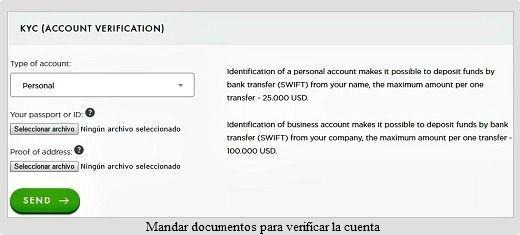 payeer-verificación