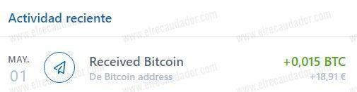 Tercer pago de MyPayingCryptoAds