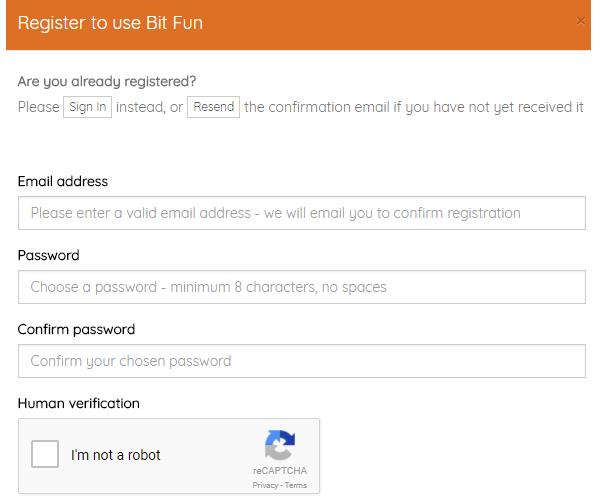 bit fun registro