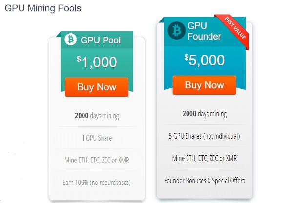 bitclub gpu mining pool