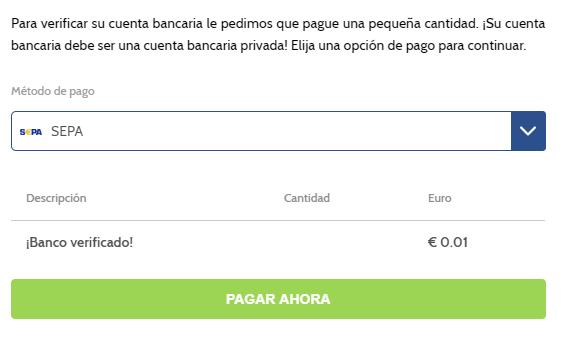 Cómo verificar el banco en Coinmerce