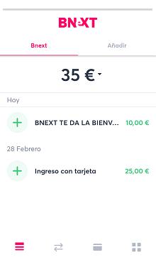 10€ de regalo en Bnext