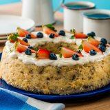 Receta de rosca de frutos secos sin gluten
