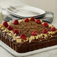 Receta de pastel keto de chocolate