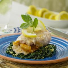 Receta de pescado relleno de camarones a la mexicana