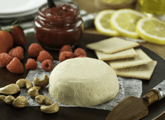 Receta de queso vegano casero