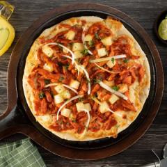 Receta de pizza al pastor