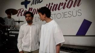 Pastor David López y Luis David Abril