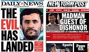 Ahmadinejad en NewYork