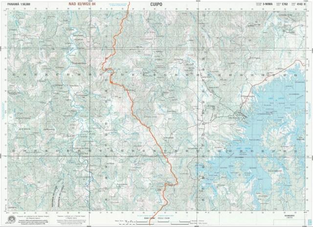 Mapa de Cuipo