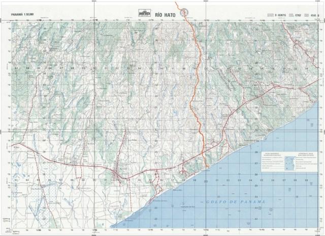 Mapa de Río Hato