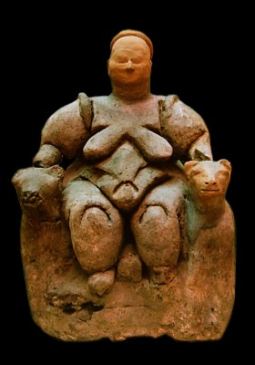 Seated Woman of Çatalhöyük c. 6,000 BCE