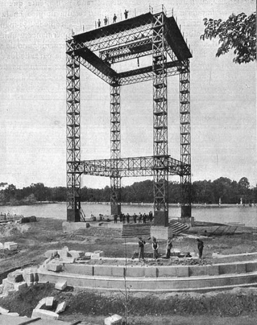 Comienza la construcción del monumento: