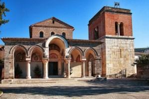 capilla de San Angelo in Fromis, cerca de Capua, en Italia