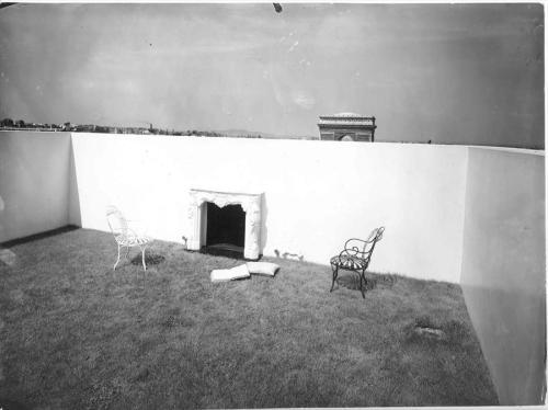 Terraza del apartamento de M. Charles de Beistegui, Paris, Francia, 1929
