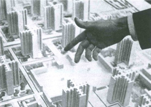 El Plan Voisin es una solución para el centro de París, elaborado entre 1922 y 1925 por Le Corbusier