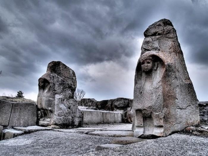 Puerta del rey en Hattusha