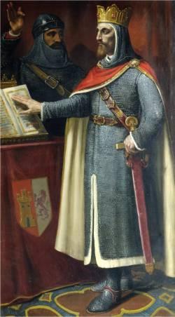 """""""Alfonso VI"""" por José María Rodríguez de Losada (1826-1896) [Ayuntamiento de León]"""