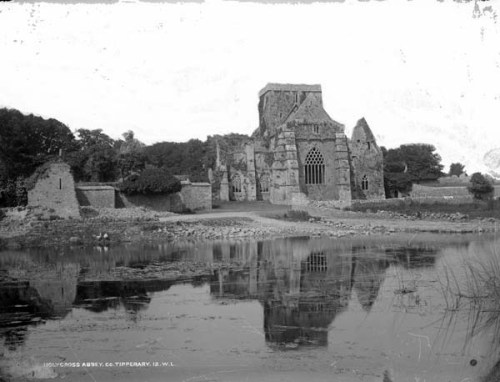 Holy Cross Abbey, ca. 1880. [National L. of Ireland]