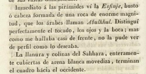 """Extracto del libro """"Viajes de Ali Bey el Abbasi"""" (1803-1807)"""