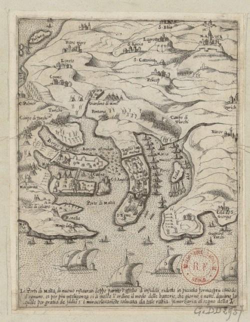 """Porti de Malta"" (1560-1569)"