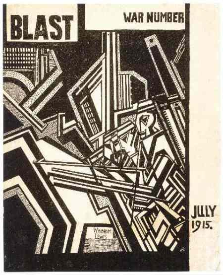 Revista Blast, editada por Wyndham Lewis (1915)