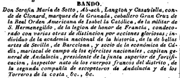 Serafín María de Sotto y ab Ach