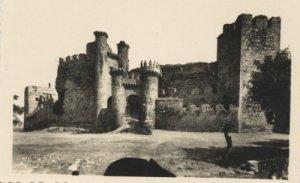Castillo de Ponferrada, 1940 [Postal Ponferrada]