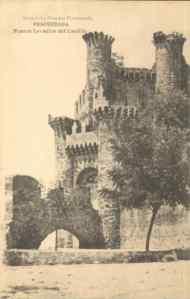 Castillo de Ponferrada, 1918 [FOTOTIPIA DE HAUSER Y MENET]