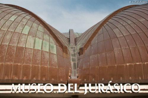 Fachada del Museo del Jurásico de Asturias