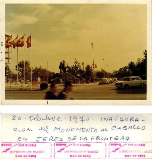 Inauguración del Monumento al Caballo de Jerez