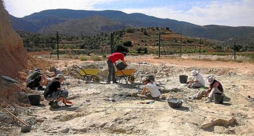 Un equipo de paleontólogos de Dinópolis