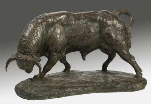 Toro realizado por A. Navarro