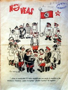 """""""El único español que nos queda..."""" (Viñetas Republicanas, 1936)"""