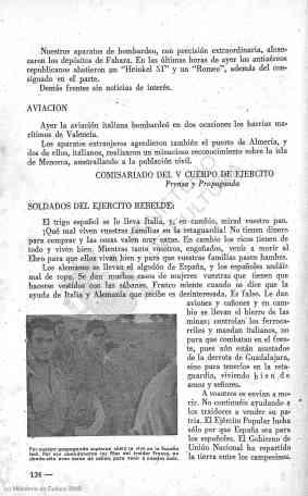54 boletines de información del Comisariado del V Cuerpo de Ejército - 1938 julio 25