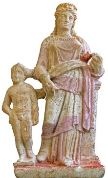 Afrodita y Eros