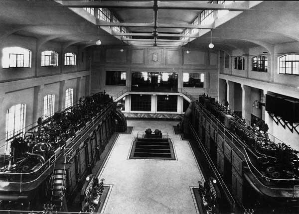 Interiores en 1950 (Archivo)