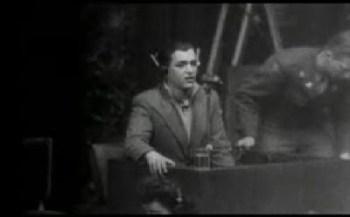 Francisco Boix declarando en los Juicios de Nuremberg