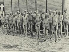 Prisioneros rusos, a 10º bajo cero. F. Boix