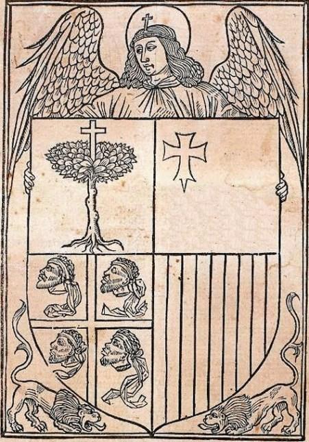 Escudo del Reino de Aragón SXV