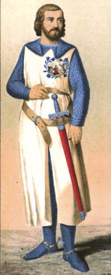 Caballero de la Orden de los lirios