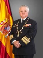 El Almirante Manuel Rebollo García, gran canciller de la Orden