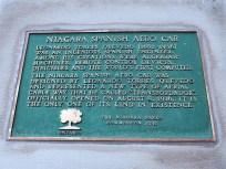 El Spanish Aerocar que atraviesa la Cataratas del Niágara. Concebido por Torres Quevedo, fue inaugurado en 1916 y aún hoy en día presta servicio.