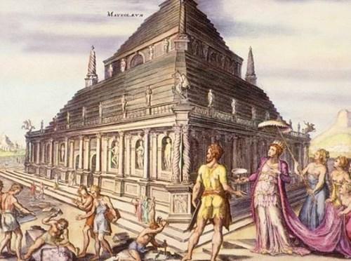 El Mausoleo, según van Heemskerck