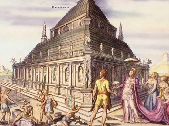 maravillas mundo antiguo mausoleo