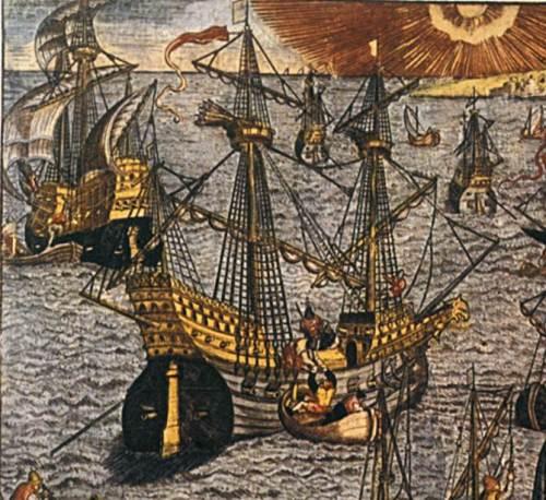 Representación gráfica de la Capitana de La Saane