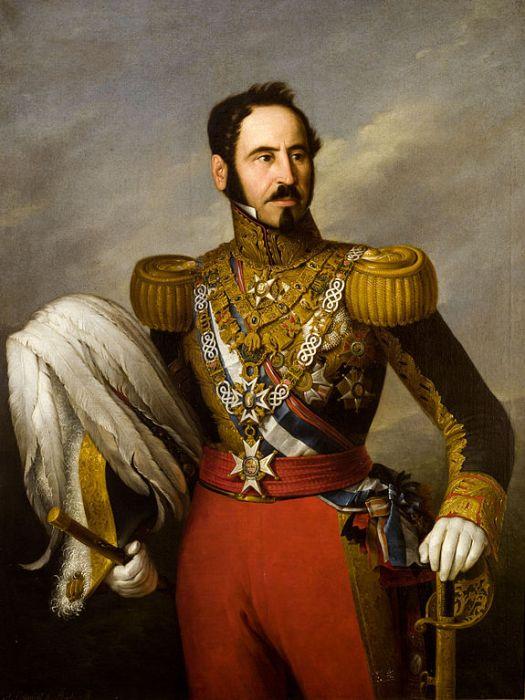 Retrato de Baldomero Espartero, por Esquivel (1841)