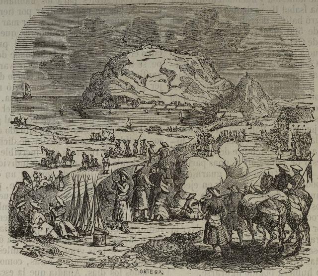 Bloqueo de San Sebastián; (por Zarza)