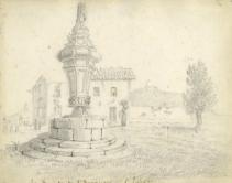 Ilustraciones de Richard Lyde HORNBROOK realizadas en aquellos días en San Sebastián